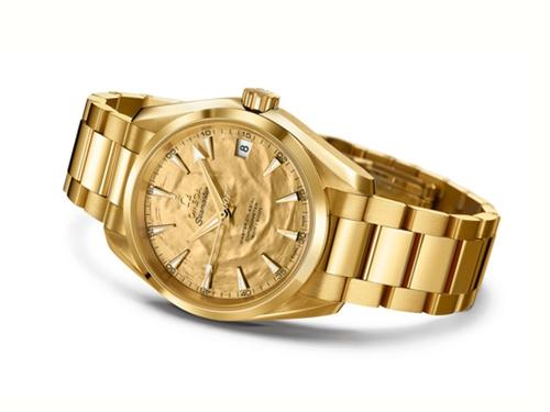 欧米茄特别呈现海马系列Aqua Terra特别腕表
