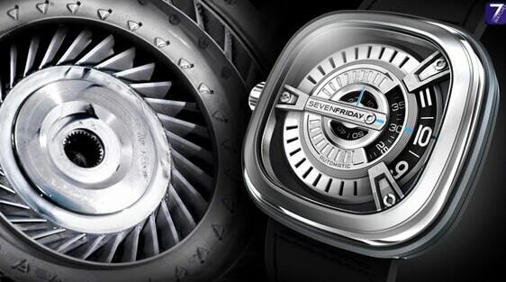 Sevenfriday 全新M系列机械腕表问世