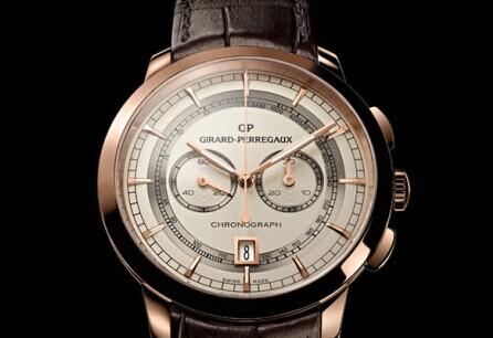 GP芝柏表1966系列推出首款双时区腕表
