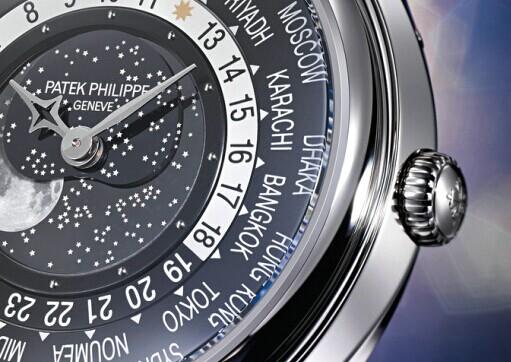 百达翡丽全新世界时间月相限量版腕表
