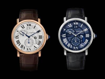 Rotonde de Cartier 昼夜显示双时区腕表
