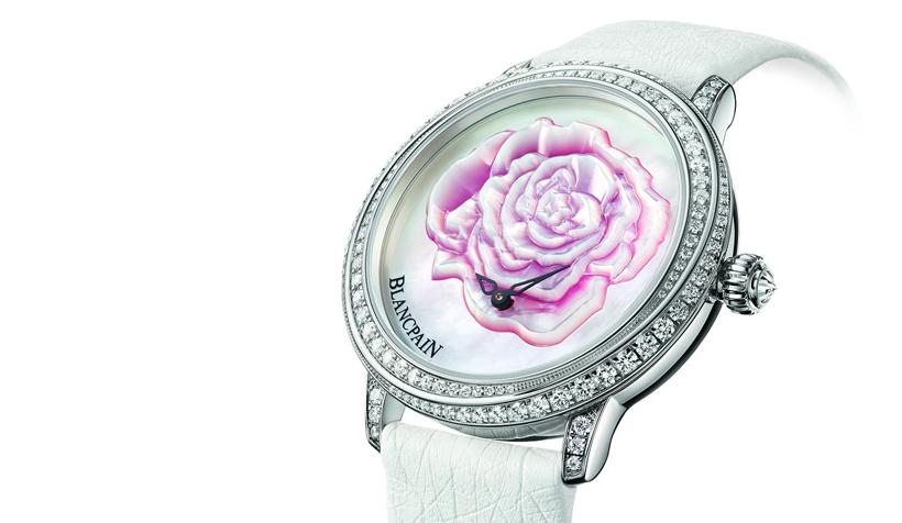 一朵玫瑰,一生承诺     Blancpain 全新2015年度情人节限量腕表