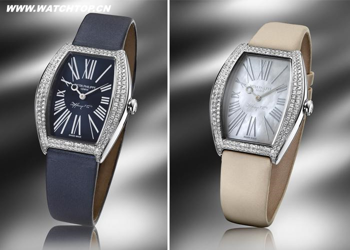 蒂芙尼和百达翡丽联手推出限量版纪念腕表