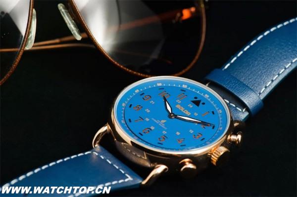 融合机械表外观 Boldr智能手表启众筹