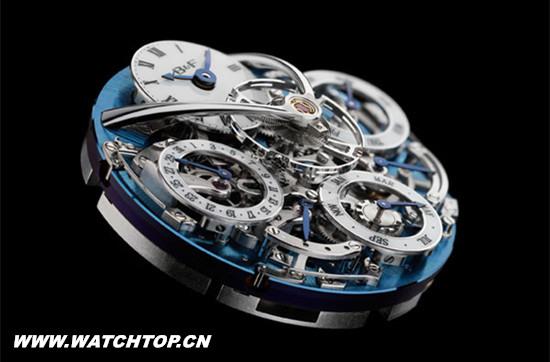 MB&F名表品牌携手钟表师史蒂芬推出LM万年历腕表