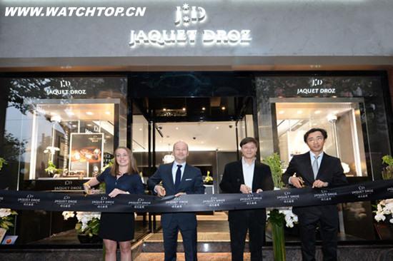 雅克德罗携时光之鸟腕表荣耀揭幕上海全新精品店