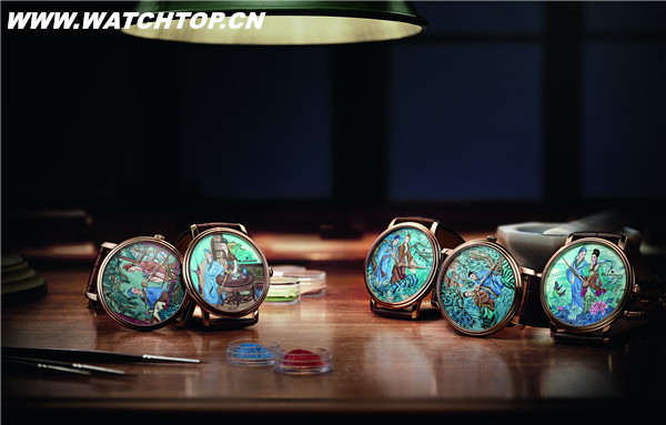Blancpain宝珀梁祝微绘珐琅高级定制腕表全球首发