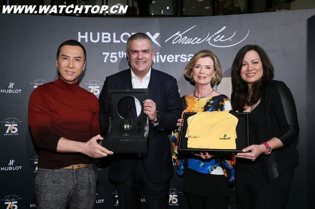 HUBLOT发布Big Bang灵魂李小龙75周年限量腕表