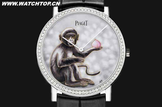 伯爵推出Altiplano系列全新生肖猴年限量珐琅腕表