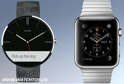 Apple Watch vs Moto 360:谁是最佳智能手表