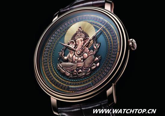 Blancpain 全新Shakudō赤铜雕绘腕表