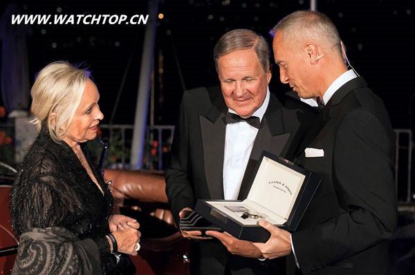 古董车主Sydorick获朗格表颁发特别版腕表