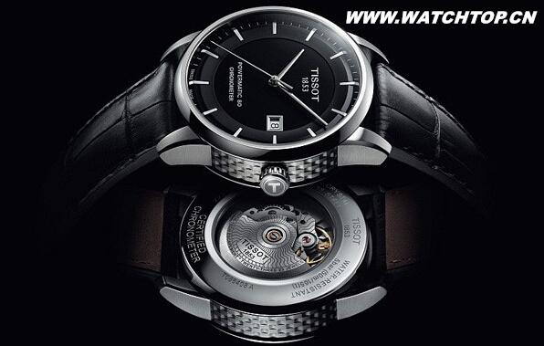 天梭表怎么样让瑞士天文台认证典藏80自动腕表