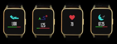 终于,StarWrist Elite手表开始用功能诠释奢华 智能手表 第3张