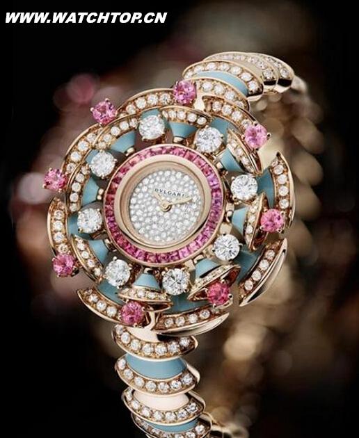 美轮美奂珠宝腕表:让女人都惊艳的手表 热点动态 第2张