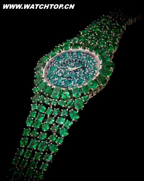 美轮美奂珠宝腕表:让女人都惊艳的手表 热点动态 第7张