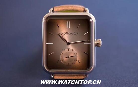 瑞士奢侈表厂新品:Apple Watch变成机械表