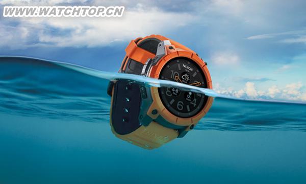 Nixon推安卓智能手表 支持100米防水