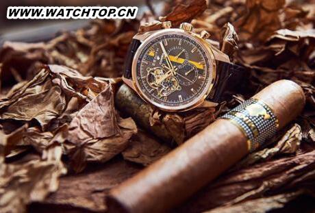 真力时发布高斯巴雪茄50周年特别款腕表 新表预览 第1张
