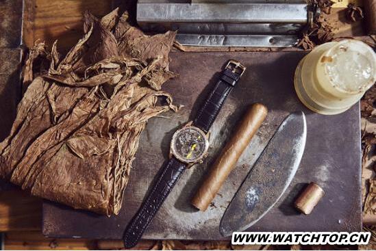 真力时发布高斯巴雪茄50周年特别款腕表 新表预览 第3张