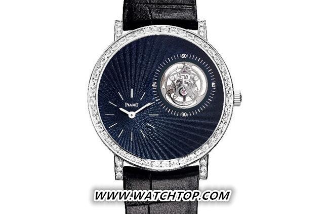 伯爵Altiplano 陀飞轮高级珠宝腕表