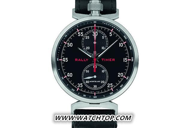万宝龙推出TimeWalker时光行者系列拉力赛计时腕表 新表预览