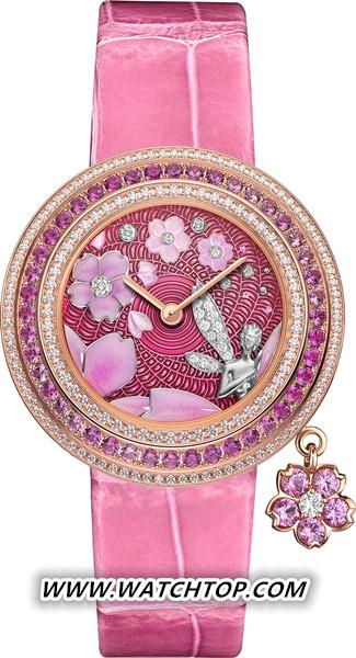 Charms Extraordinaire Fée Sakura腕表 新表预览 第3张