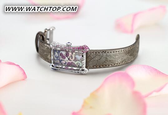 """宝齐莱雅丽嘉Royal Rose皇家玫瑰限量珠宝腕表,""""挚爱一生""""只送此生唯一!"""
