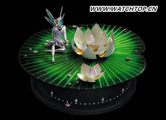 Van Cleef & Arpels推出绿野仙子自动机械人偶