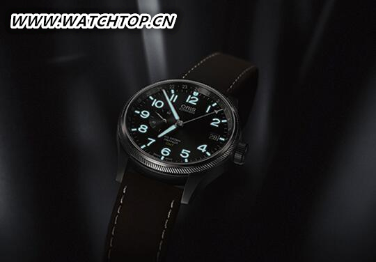 豪利时2017款大表冠飞行员GMT腕表