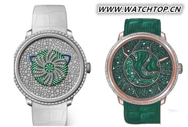 Faberge名表品牌推出限量版祖母绿腕表