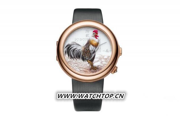 飞亚达推出全新艺系列2017丁酉鸡年典藏腕表