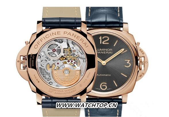 沛纳海推出两款特别版腕表庆祝Cortina Watch成立45周年