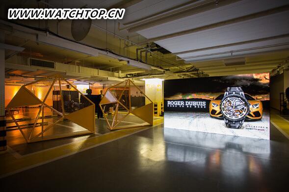 罗杰杜彼推出全新限量版Excalibur Aventador S系列腕表