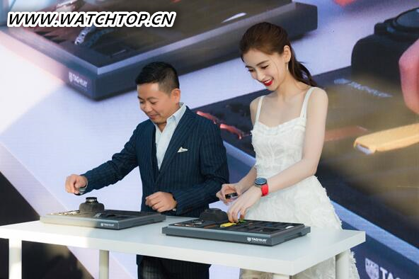 泰格豪雅表携手Angelababy发布Connected智能腕表系列 热点动态 第1张