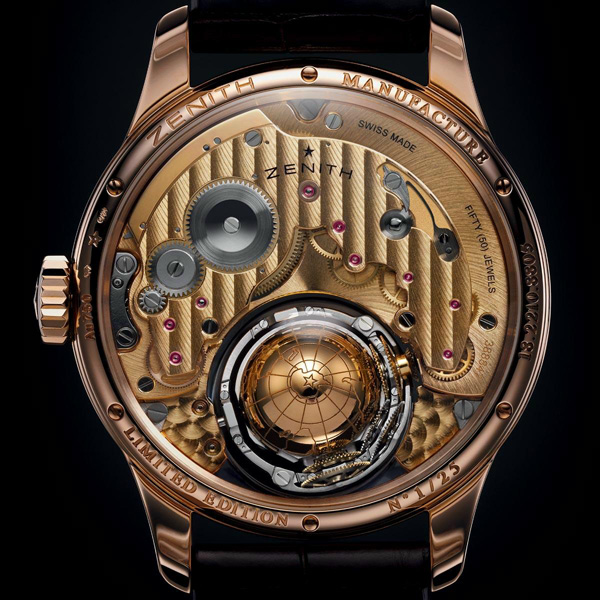 ZENITH真力时尊贵系列的哥伦布飓风腕表