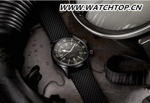 浪琴表2018年巴塞尔表展新品:传奇潜水员腕表,低调而优雅的黑色