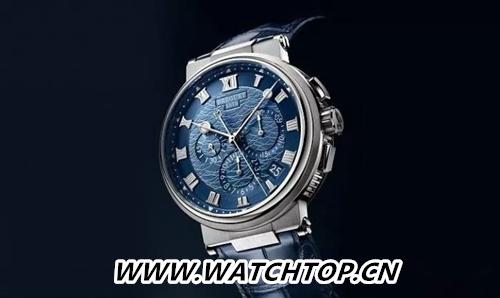 Breguet 宝玑Marine Chronograph 5527 行业资讯 第1张