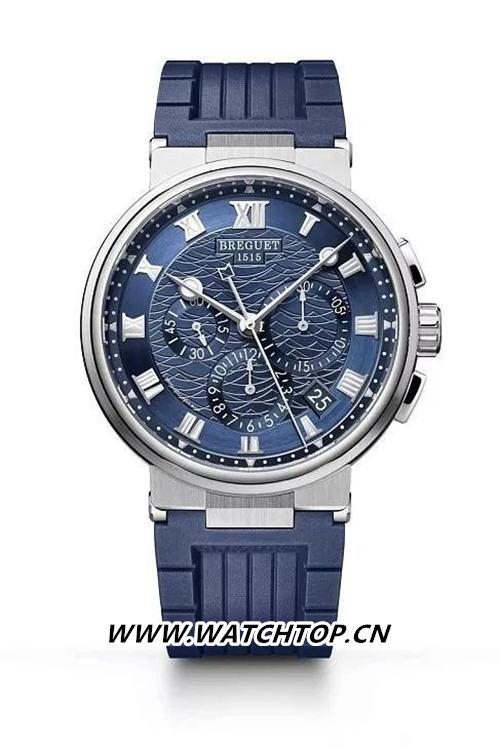 Breguet 宝玑Marine Chronograph 5527 行业资讯 第3张