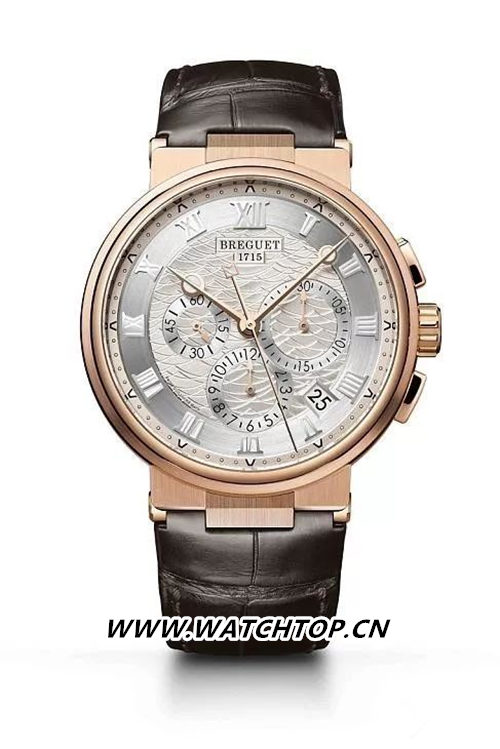 Breguet 宝玑Marine Chronograph 5527 行业资讯 第4张