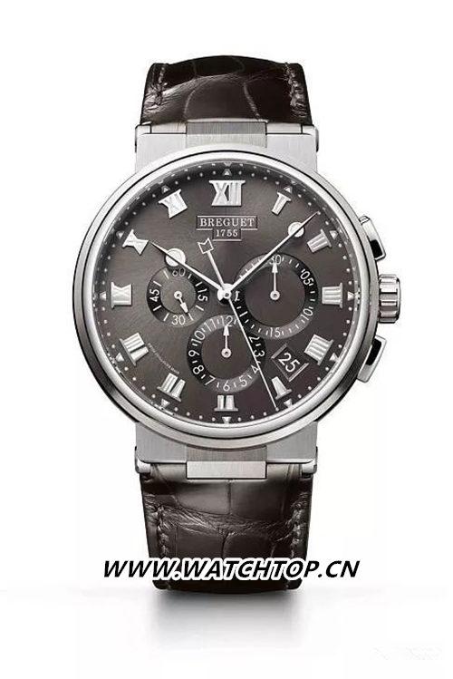Breguet 宝玑Marine Chronograph 5527 行业资讯 第5张