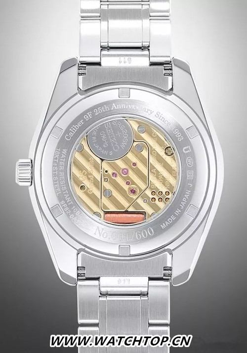 Grand Seiko 9F机芯25周年限定纪念腕表再现绝代风华 行业资讯 第4张