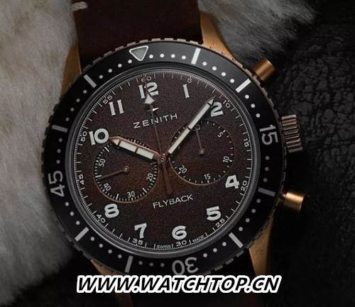 Zenith 真力时Pilot TIPO CP-2 Flyback