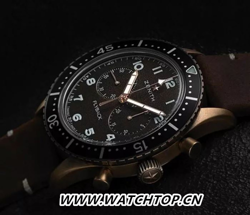 Zenith 真力时Pilot TIPO CP-2 Flyback 行业资讯 第3张