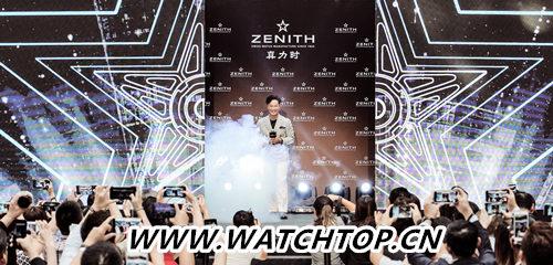 真力时携手陈奕迅首现天津 官方视频震撼发布