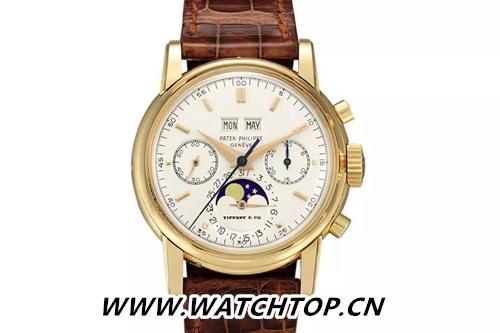 亚洲拍卖史上最贵腕表诞生:蒂芙尼发行的Patek Philippe Ref. 2499破纪录
