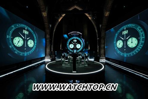 "朗格全球发布DATOGRAPH UP/DOWN ""Lumen""从不停歇的计时码表"