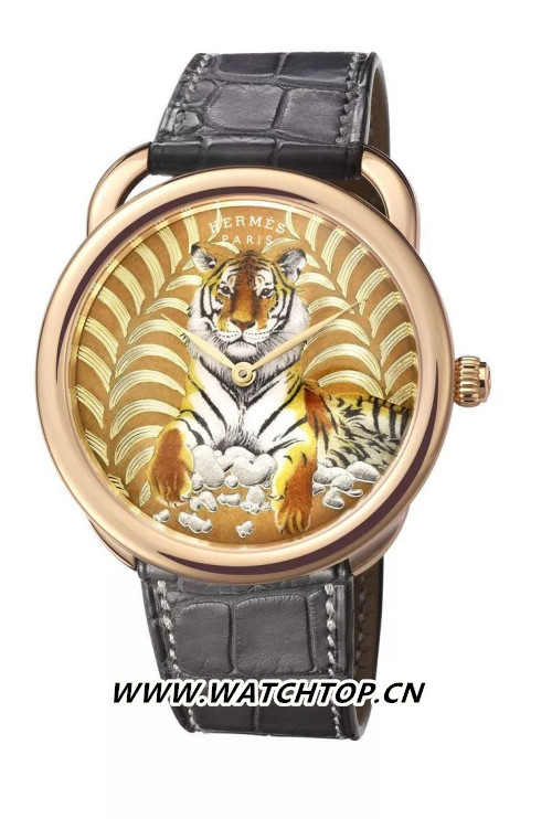 隐性的高复杂工艺 爱马仕Arceau Tigre Royal 行业资讯 第3张