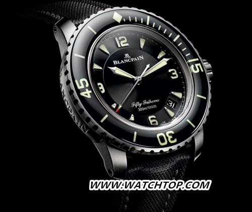 宝珀BLANCPAIN五十噚系列全新钛合金腕表闪耀问世