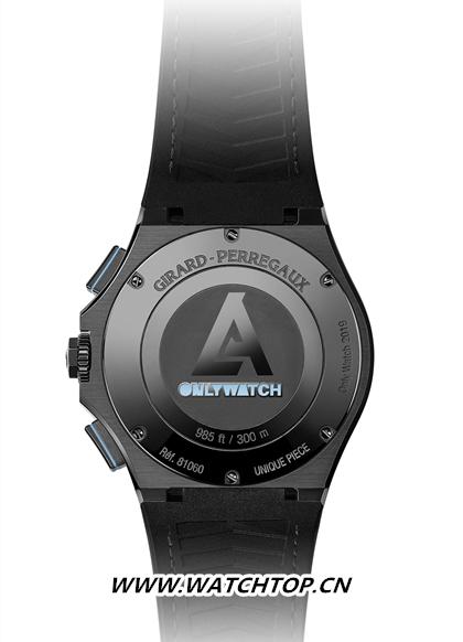 GP芝柏表Laureato桂冠系列Absolute计时码表 Only Watch慈善拍卖特别款 行业资讯 第2张